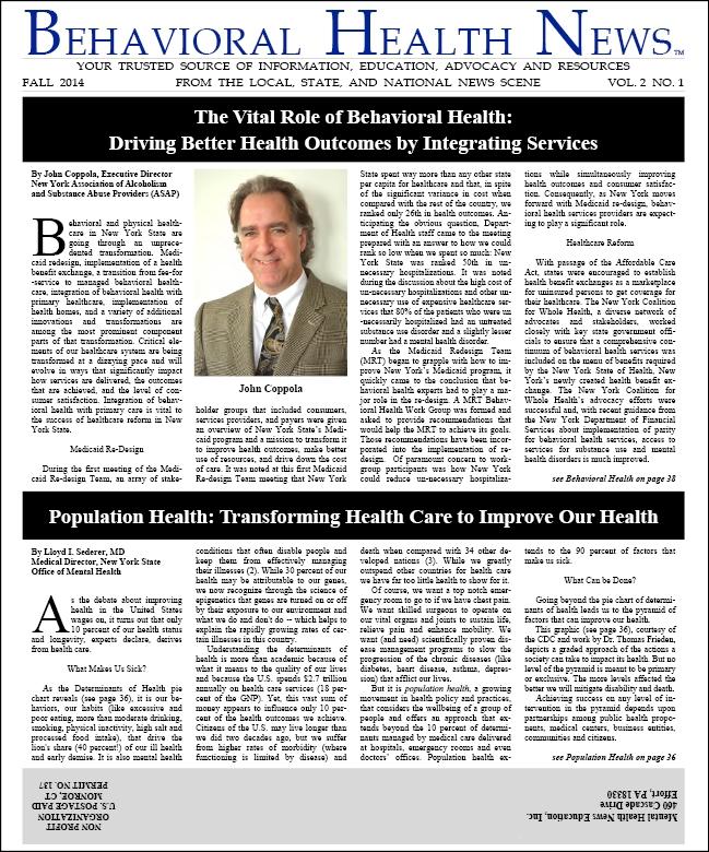 BHN Fall 2014 Issue