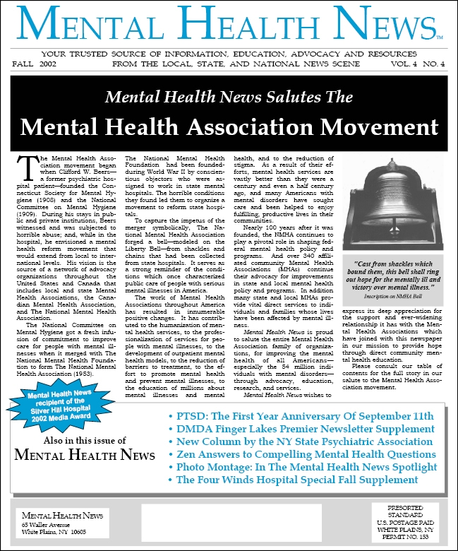 MHN Fall 2002 Issue