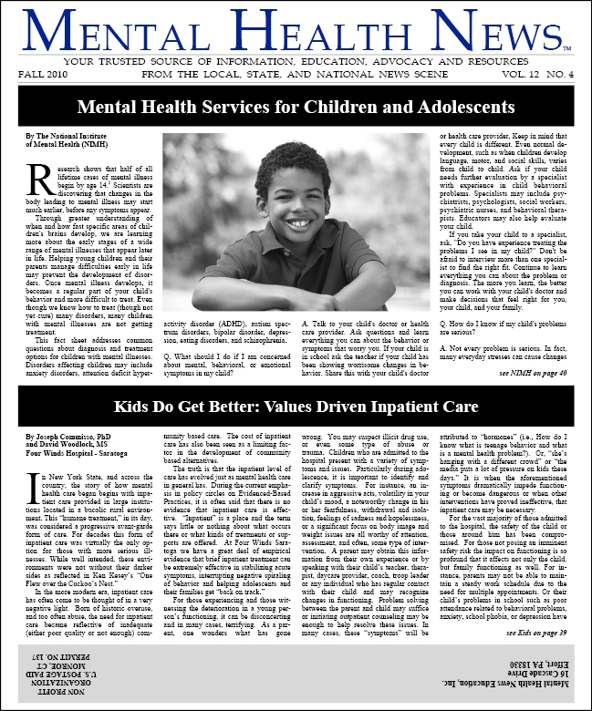 MHN Fall 2010 Issue
