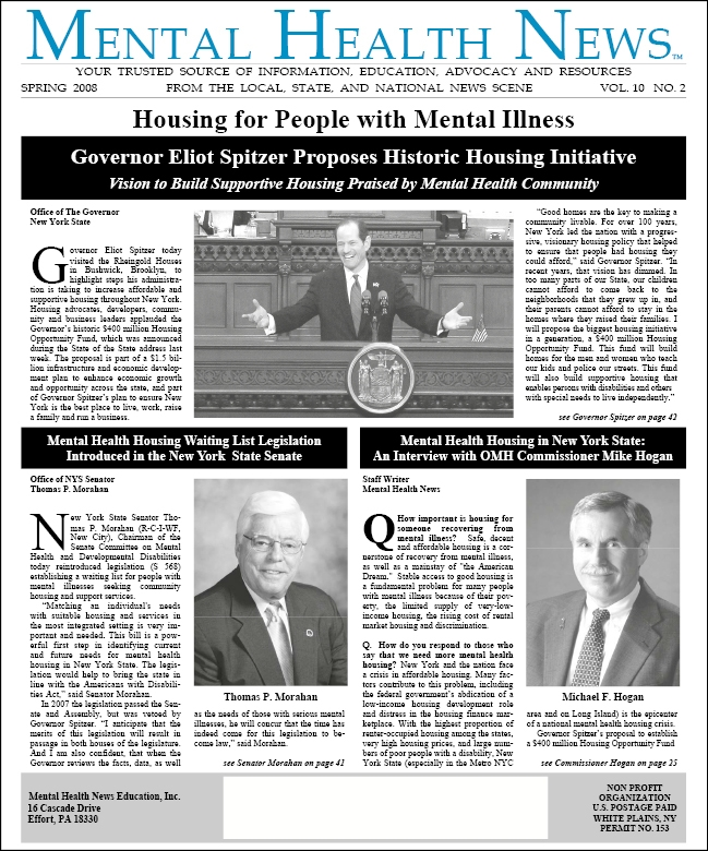 MHN Spring 2008 Issue