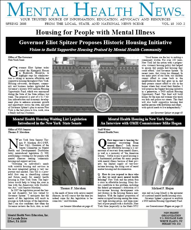 MHN Spring 2008 Issue
