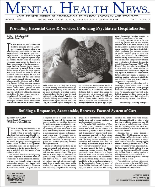MHN Spring 2009 Issue