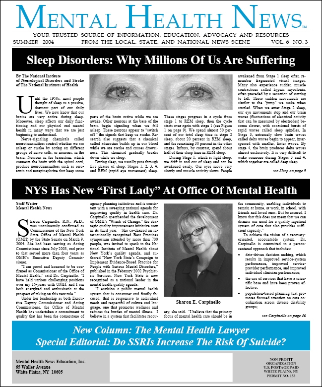 MHN Summer 2004 Issue