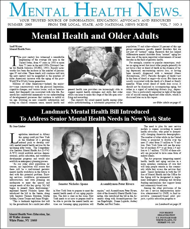 MHN Summer 2005 Issue