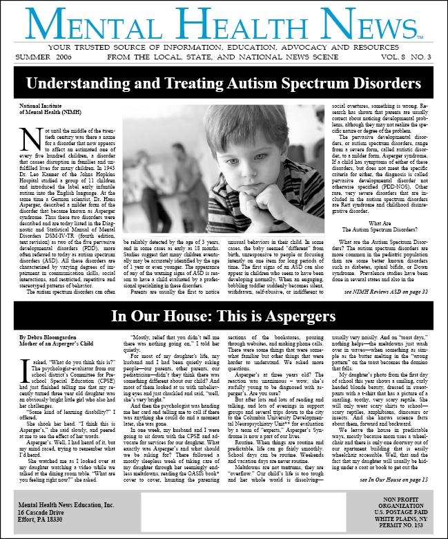 MHN Summer 2006 Issue