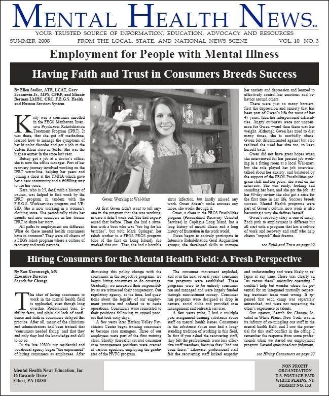 MHN Summer 2008 Issue