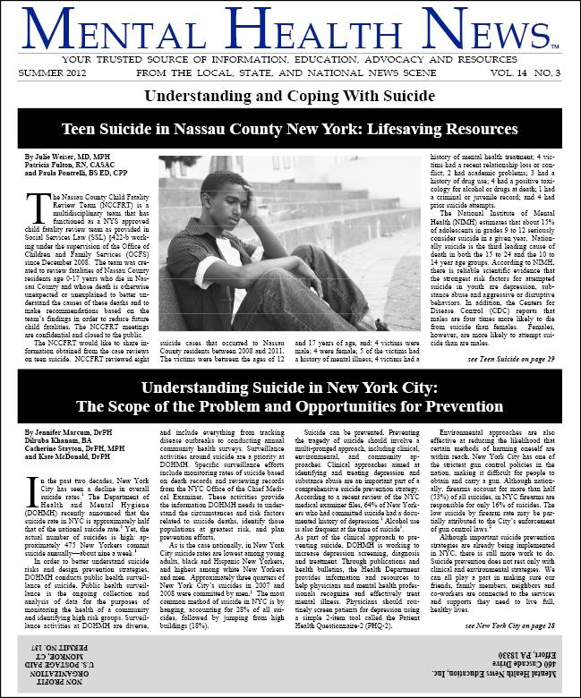 MHN Summer 2012 Issue
