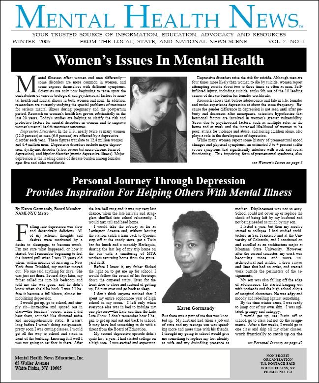 MHN Winter 2005 Issue