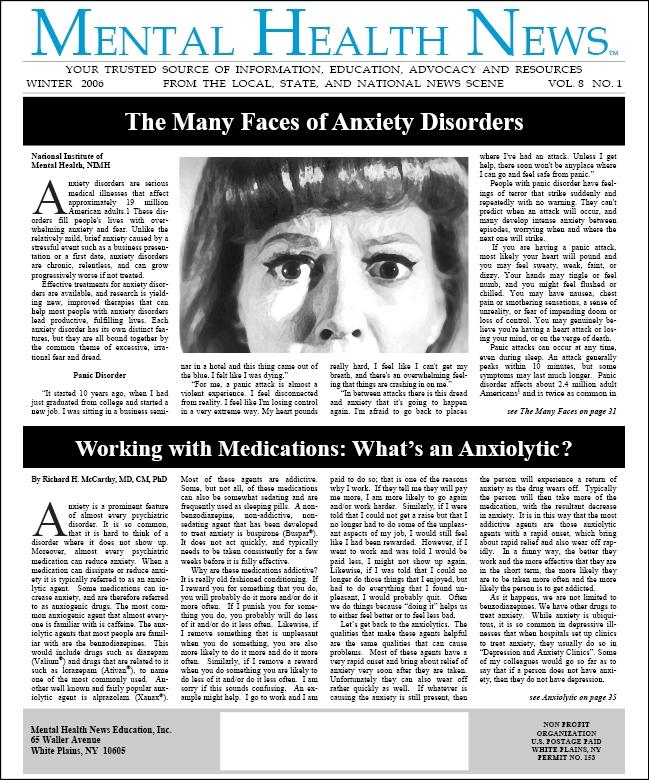 MHN Winter 2006 Issue