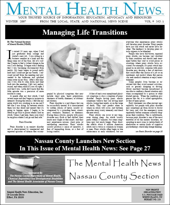 MHN Winter 2007 Issue