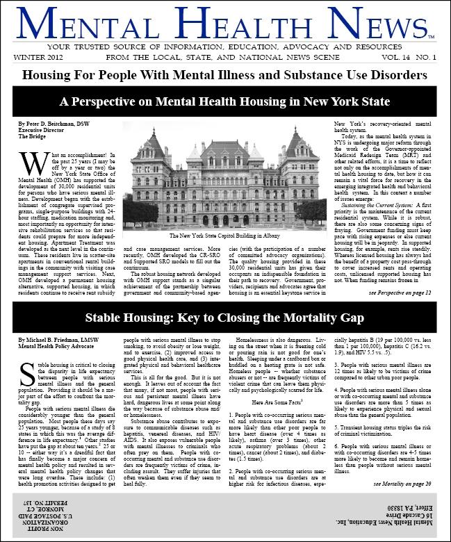 MHN Winter 2012 Issue