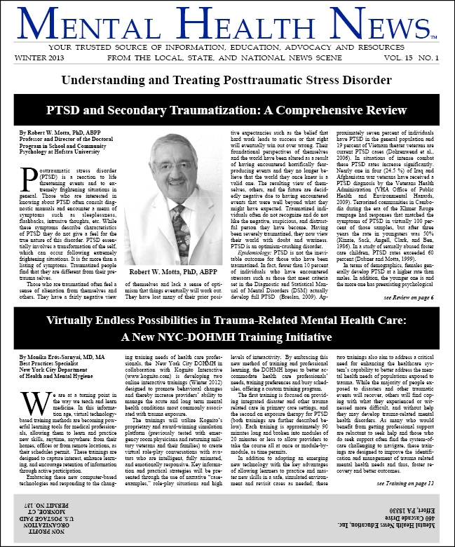 MHN Winter 2013 Issue