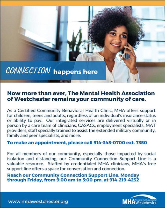 MHA Westchester Fall 2020